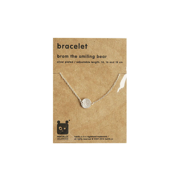 Bracelet Grow Along Smile Silver