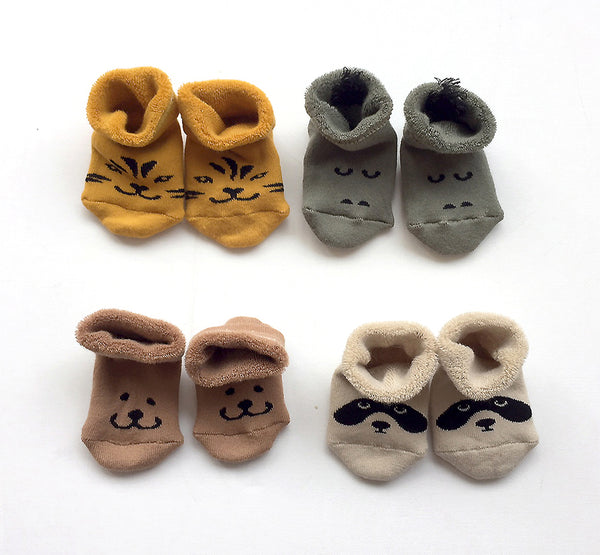 Gimme all box baby booties