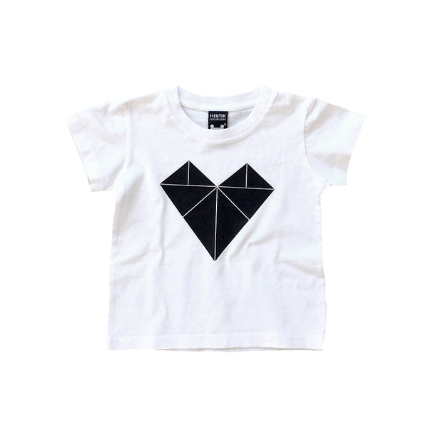 Baby T-shirt Tangram Love