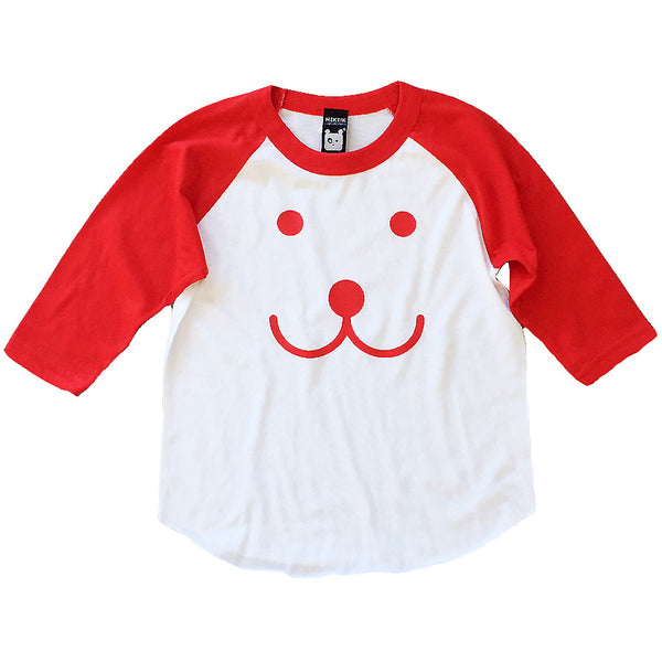 Kids baseball t-shirt Smile