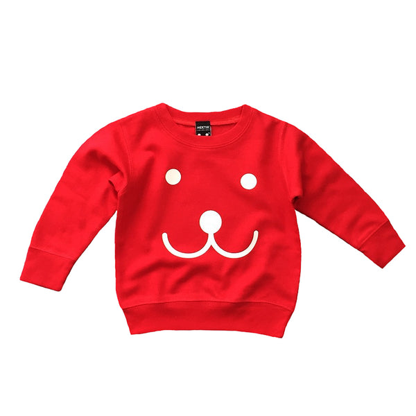 Sweater Smile red