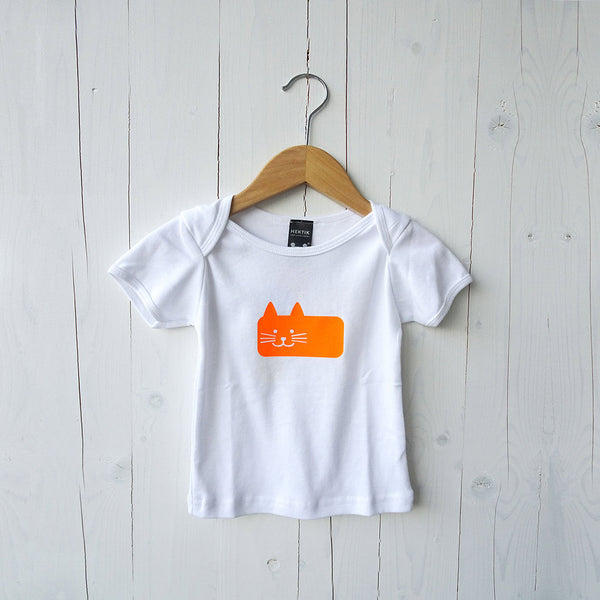 Baby T-shirt Mauw the Cat