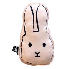 Cuudly cushion Flap The Rabbit pinky