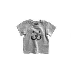 Baby T-shirt Smile grey