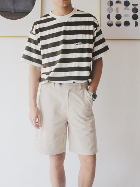 Essenso PT1019 Twill Wide Leg Shorts  (網店限定優惠)