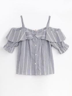 F17100754  Off Shoulder Top