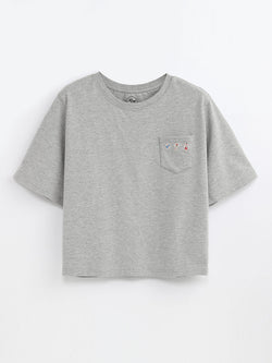 F17101404  Embroidered Tee