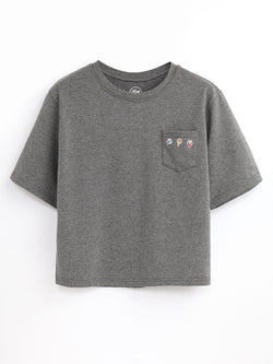 F17101406  Embroidered Tee