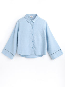 F1730153  Bell Sleeve Shirt