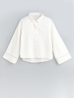 F1730110  Bell Sleeve Shirt