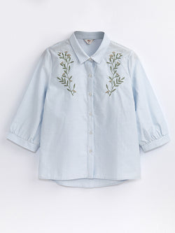 F1730453  Embroidered Shirt