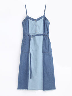 F1760107  Denim Dress