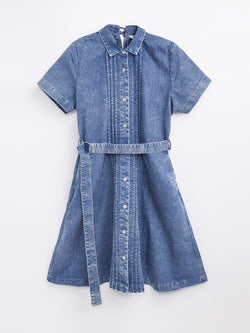F1760308  Denim Dress