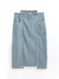 F17700507  Denim Skirt