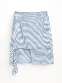 F17701053  Checked Skirt