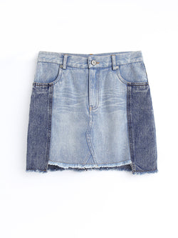 F1770408  Denim Skirt