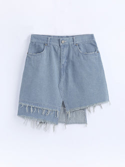 F1770607  Denim Skirt