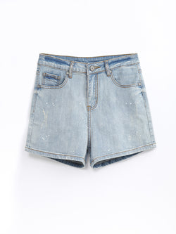 F1780507  Denim Shorts