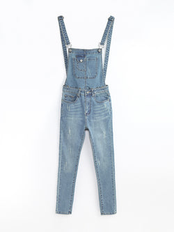 F17900107  Denim Jumpsuit