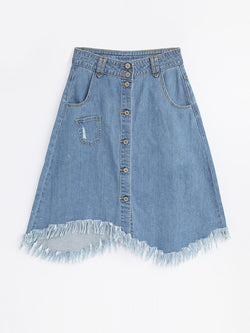 F17920108  Denim Skirt