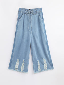 F17940307  Denim Culottes