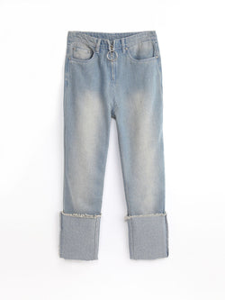 F17940407  Roll-up Jeans