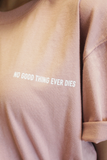 "Essenso F191049 ""No good things ever dies""Tee (網店限定優惠)"
