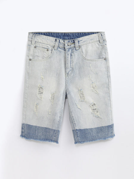 JN80107  Denim Shorts