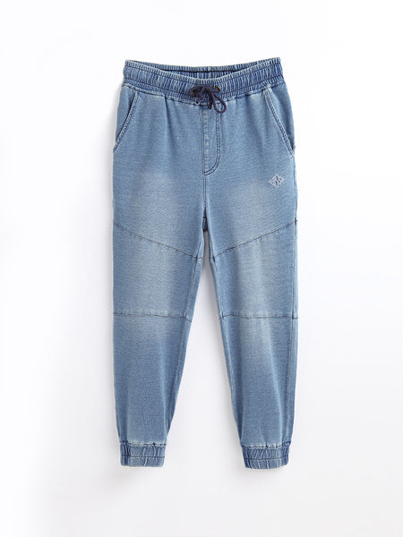 JN80208  Denim Sweatpants