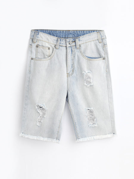 JN80507  Denim Shorts