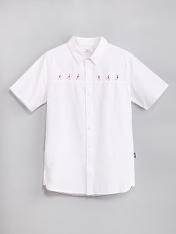 SH81310  Embroidery Shirt