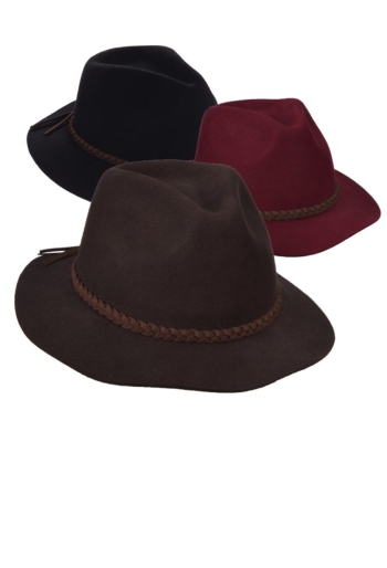 Dorfman Pacific Wool Felt Rancher Hat