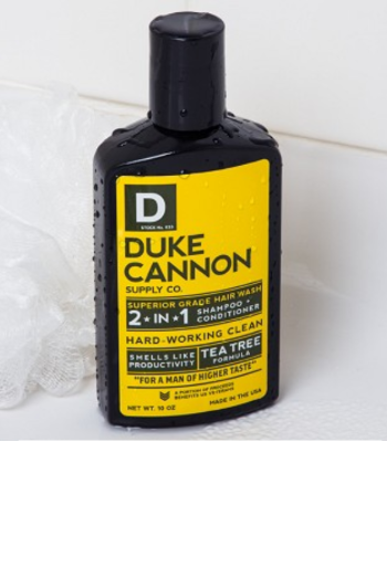 Duke Cannon: Tea Tree 2-in-1 Hair Wash