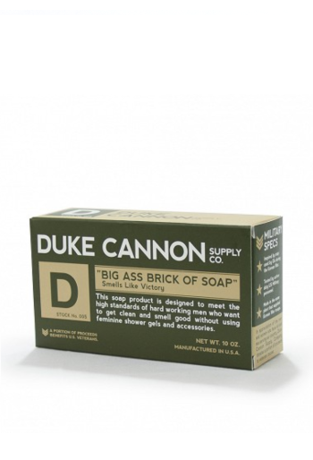 Duke Cannon: Brick of Soap-Smells Like Victory