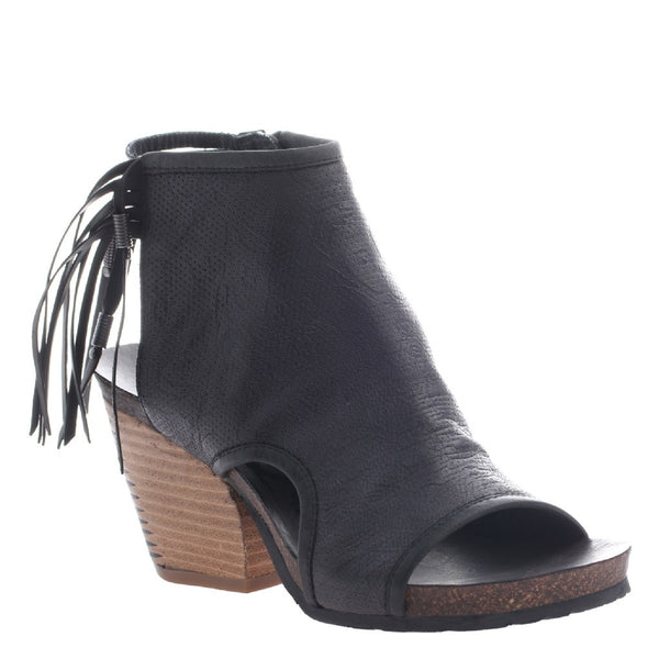 OTBT Black Spirited Cutout Bootie