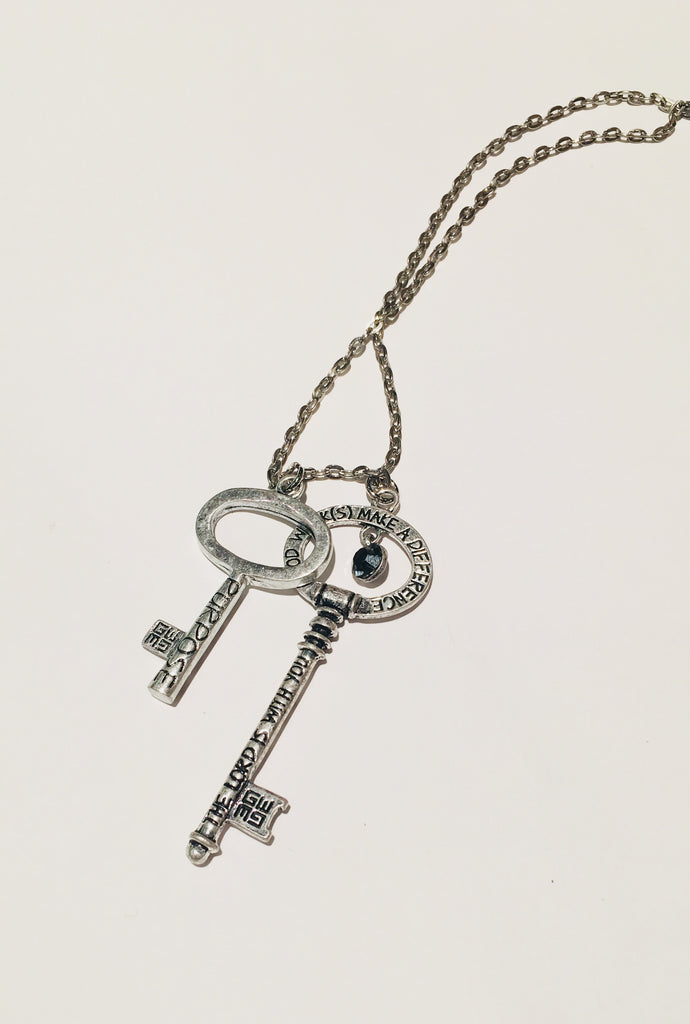 Annointed Blessing Keys Necklace - Purpose