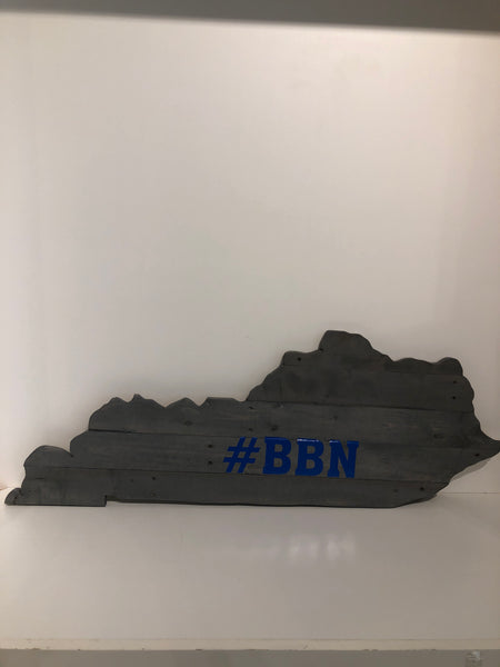 Kentucky Wood Pallet Cutout