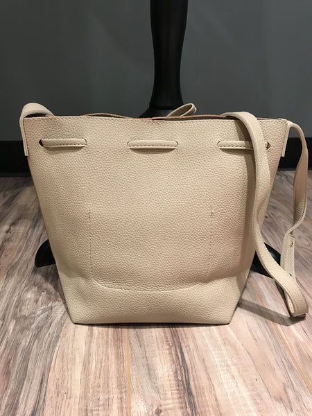 Natural Two Tone Tote