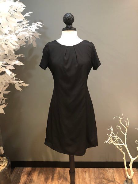 Black Low Bow Dress