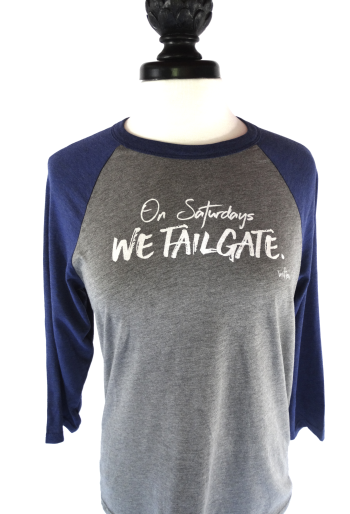 Statement: On Saturdays We Tailgate Baseball Shirt