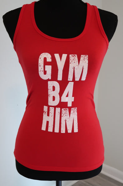 Women's Gym B4 Him Tank