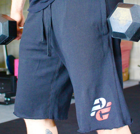 Men's Pro Physique Fleece Shorts.