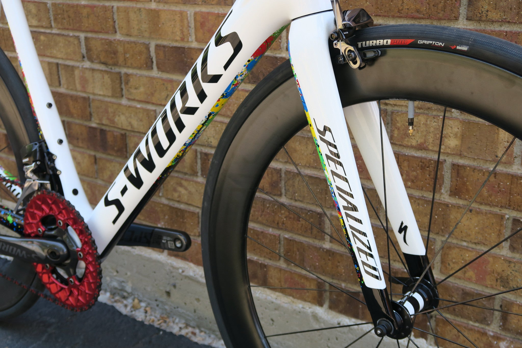 2015 S-WORKS TARMAC LIMITED EDITION KWIATO / SRAM ETAP