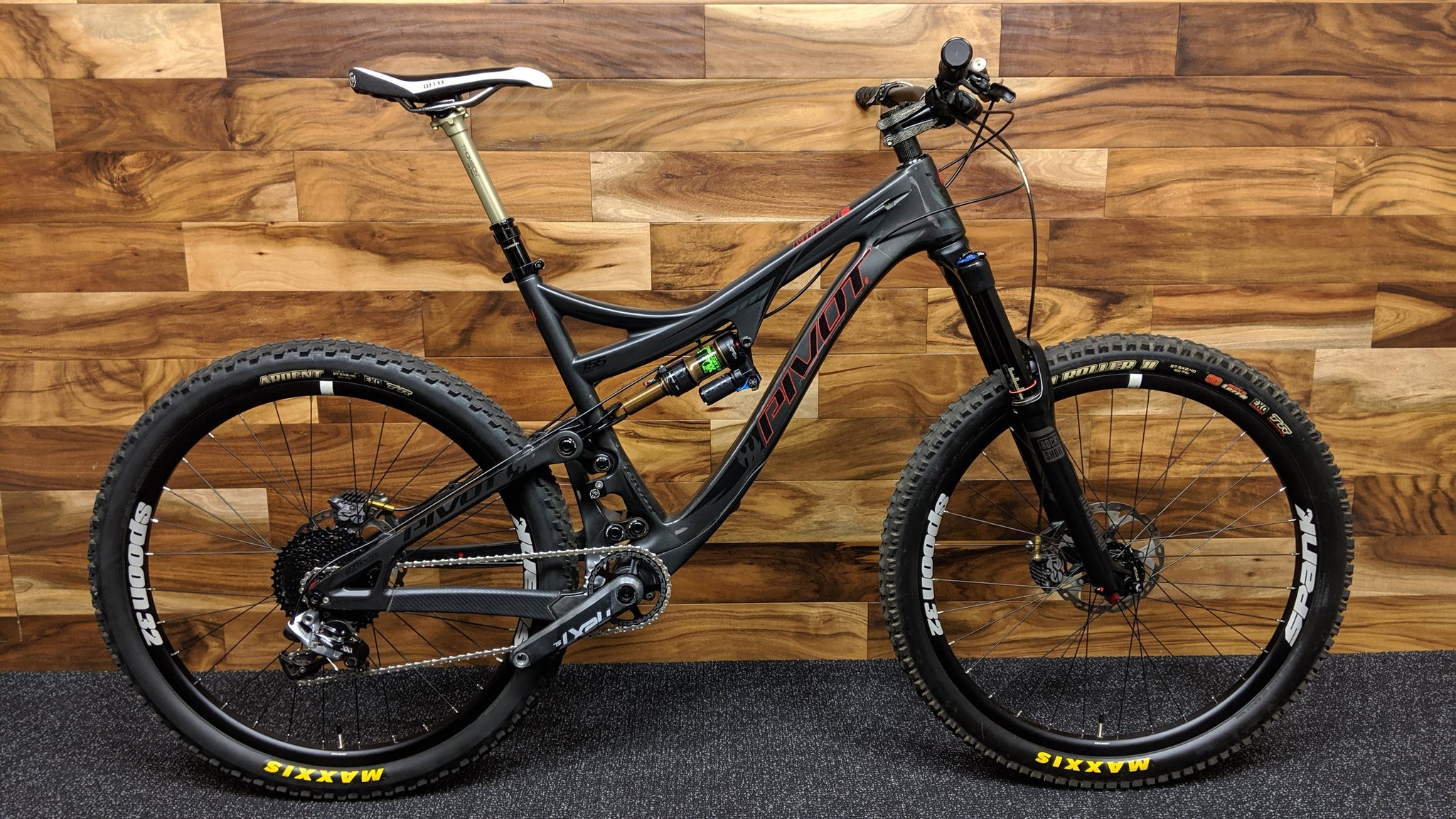 2015 PIVOT CYCLES MACH 6 CARBON 27.5""