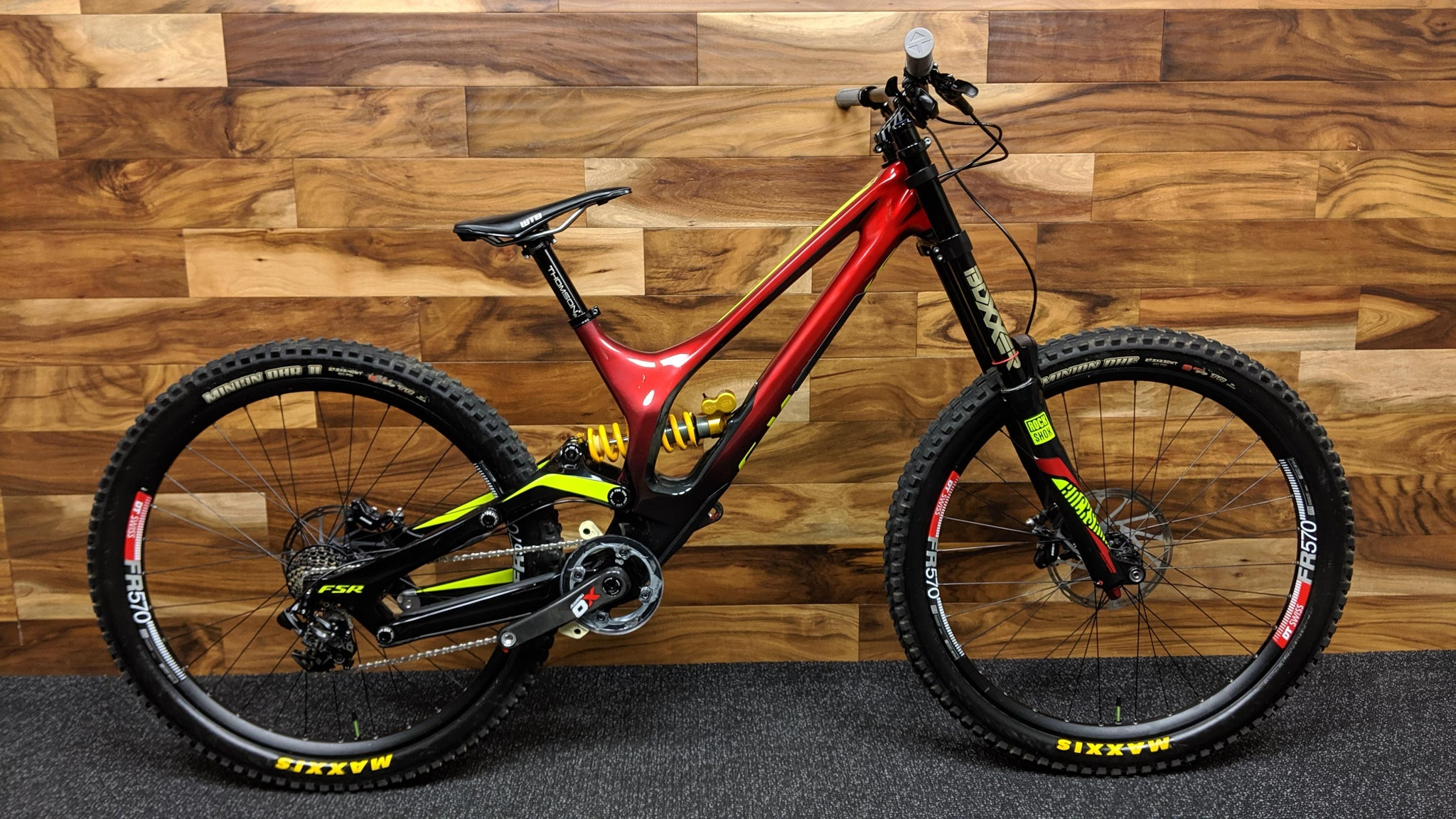 2017 S-WORKS DEMO 8 FSR CARBON 27.5""
