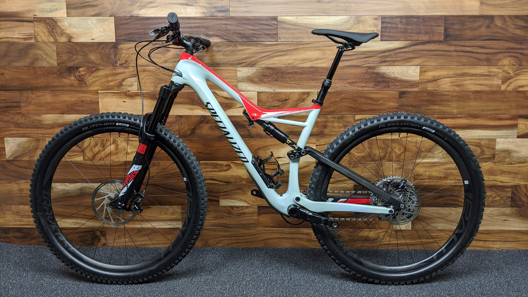 2017 SPECIALIZED STUMPJUMPER FSR PRO CARBON 29""