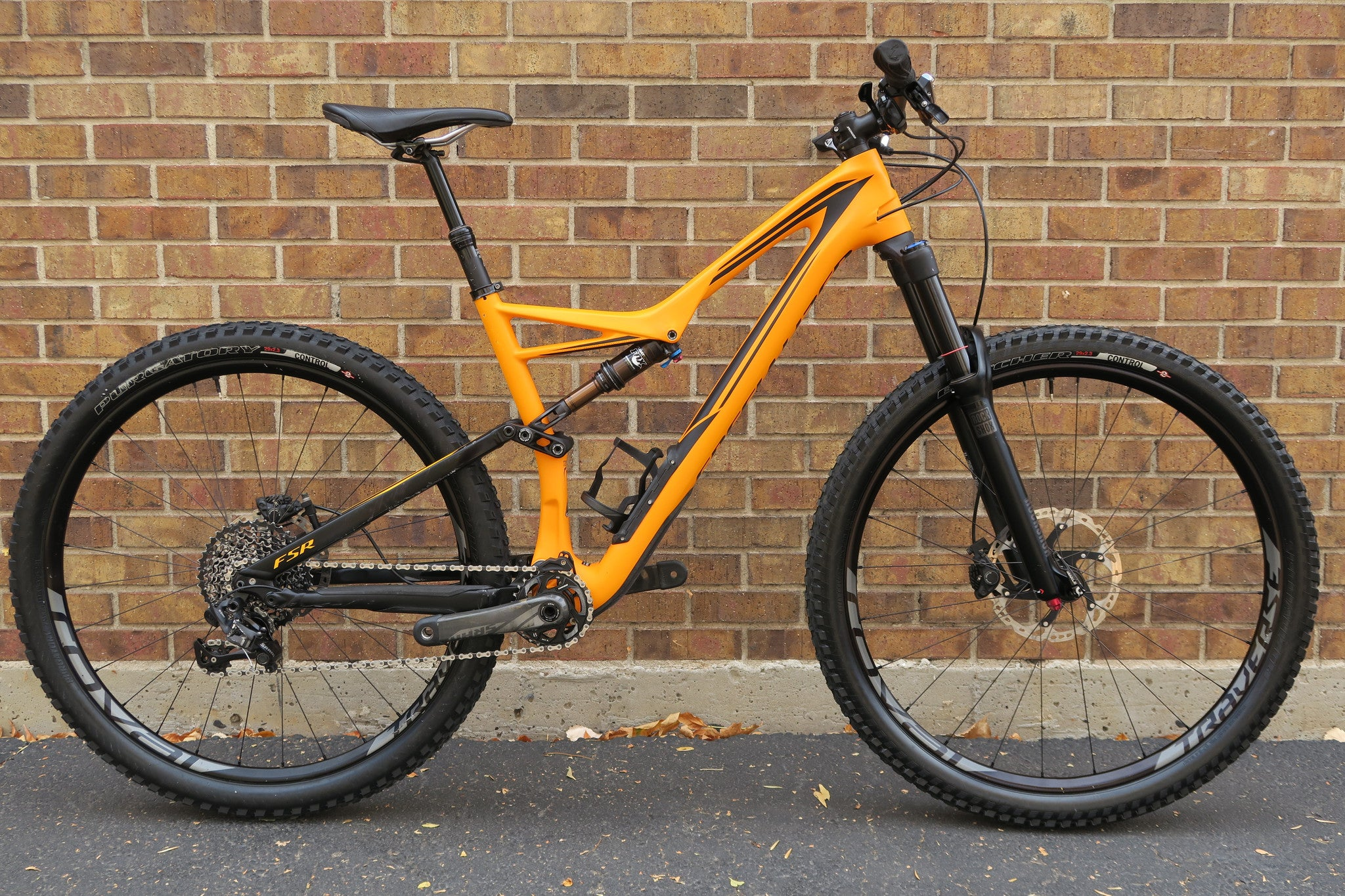 2016 SPECIALIZED STUMPJUMPER FSR EXPERT CARBON 29