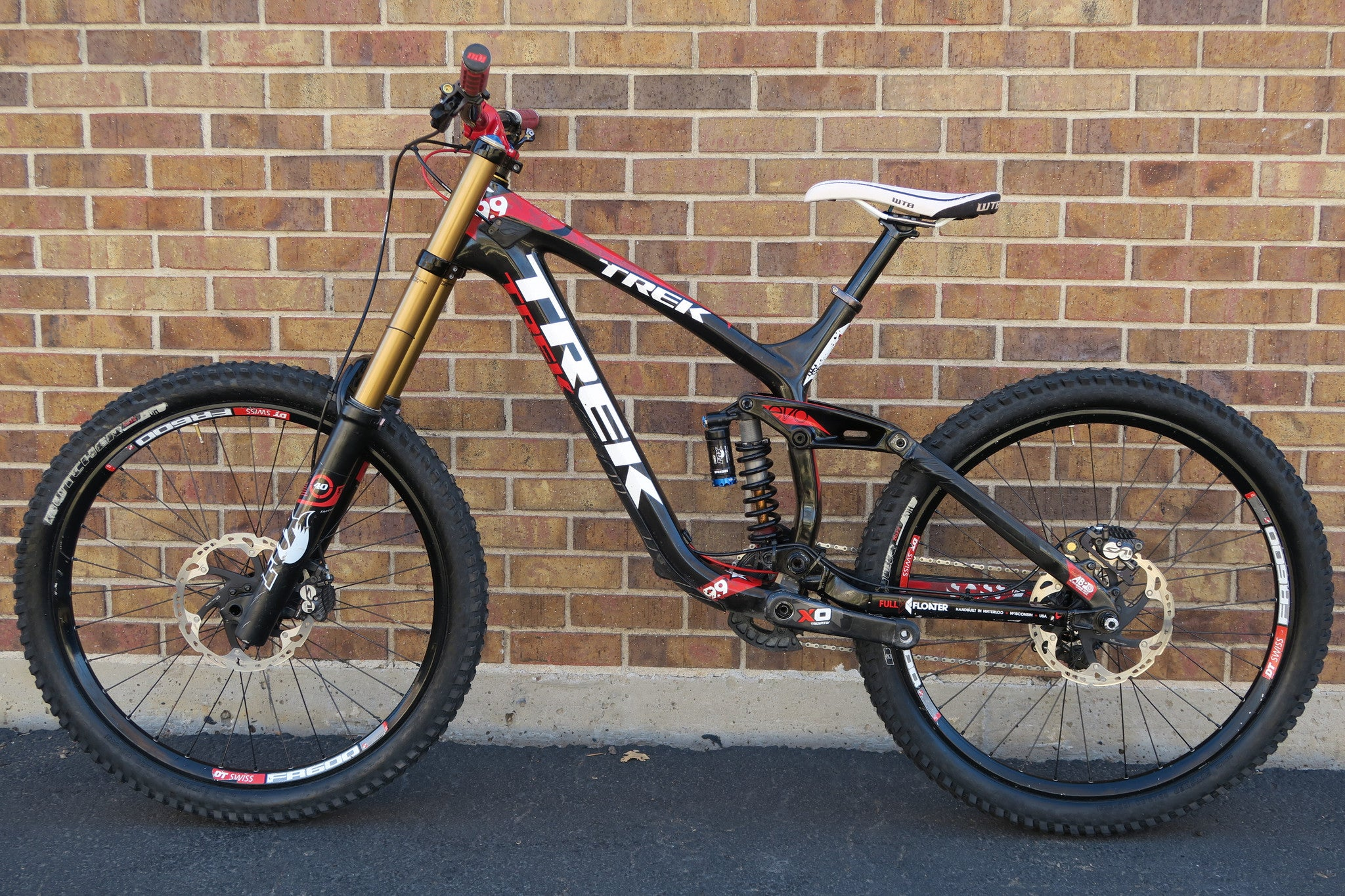 2012 TREK SESSION 9.9 CARBON 26""
