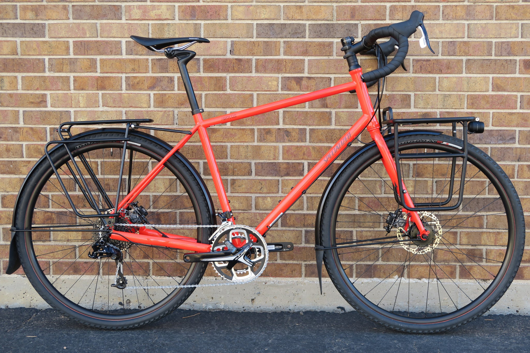 2016 SPECIALIZED AWOL EVO ADVENTURE TOURING BIKE