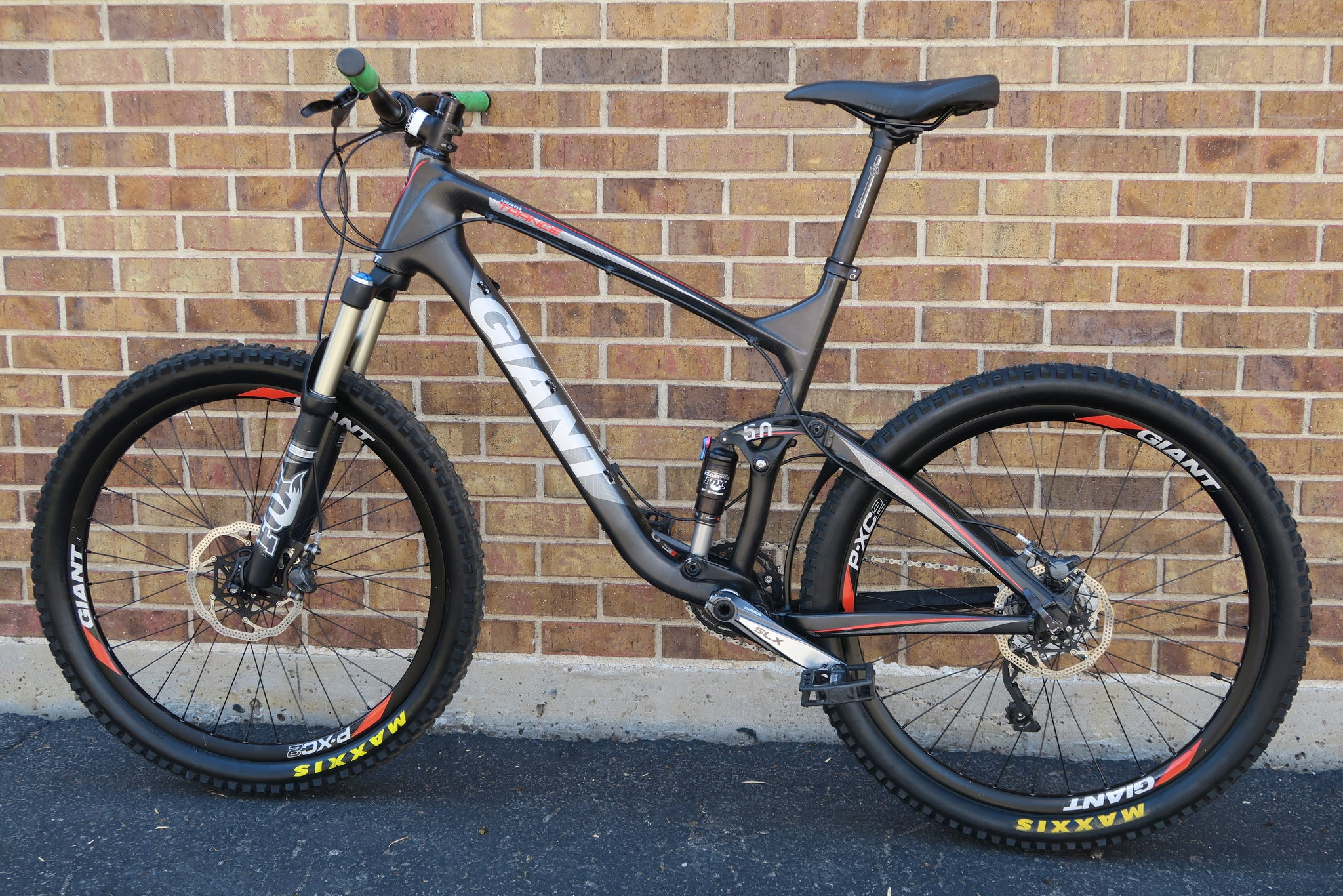 2012 GIANT TRANCE X ADVANCED 2 CARBON 26